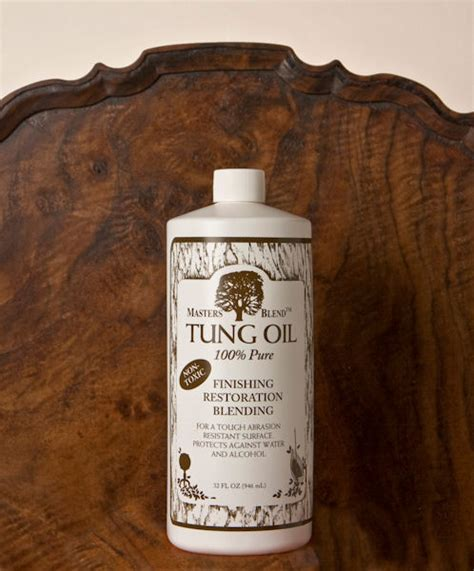 Masters Blend Finish - Tung Oil-100 Pure TM