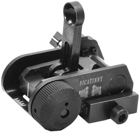 Matech Ar15 Usgi Backup Iron Rear Sight Brownells