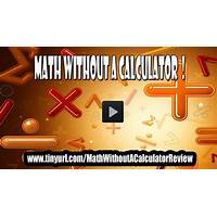Math without a calculator! learn how to do math in your head! instruction