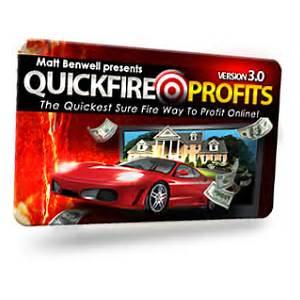 Matt benwell's quick fire profits 3 work or scam?