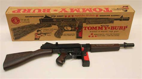 Mattel Tommy Burp Gun For Sale