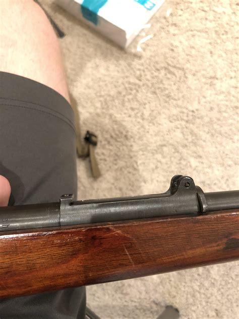 Mauser Rear Sight Installation