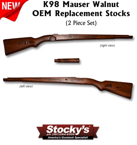 Mauser Rifle Stock Replacement