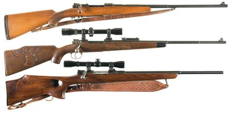 Mauser Style Bolt Action Rifles