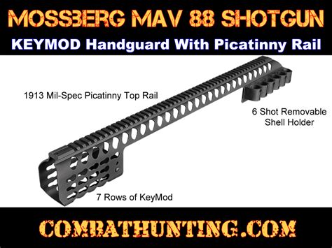 Maverick 88 Accessories Keymod Handguard Picatinny Rail