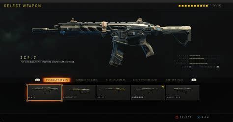 Max Stats Of All Assault Rifles In Black Ops 4
