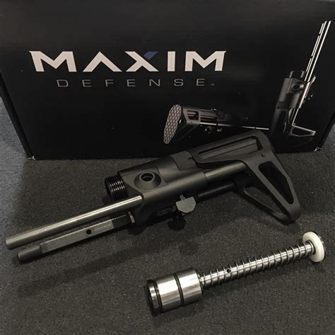 Maxim Defense Cqb Stock For Ar15 W Jp Silent Captured And Mossberg 500 590 835 930 935 Safety Kit Brownells Fr