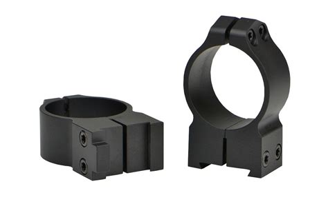 MAXIMA GROOVED RECEIVER CZ RINGS PA CZ 550 Rings 30mm