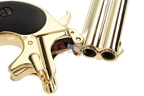 Maxtact Derringer Full Metal Double Barrel 6mm Gbb Pistol And Rcbs 2die Set 30 Tc Midwayusa