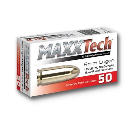 Maxx 9mm Ammo