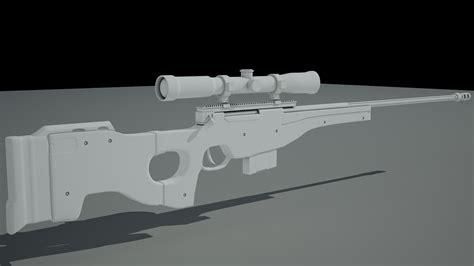 Maya Sniper Rifle