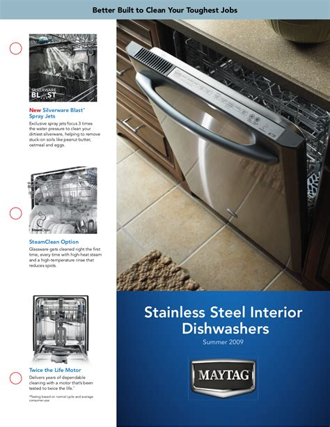 maytag dishwasher jetclean eq plus pdf manual