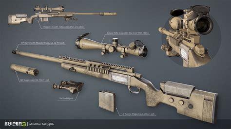 Mcmillan Tac338 Sniper Rifle Airsoft