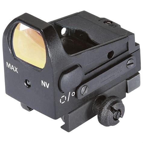 MCS RED DOT SIGHTS Miniature Collimating Sight Black