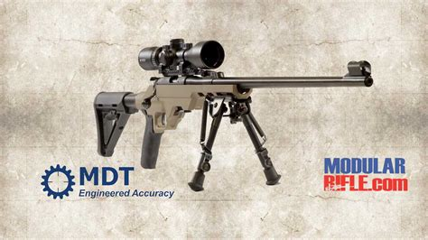 Mdt Lss22 22lr Rifle Chassis System Modularrifle Com