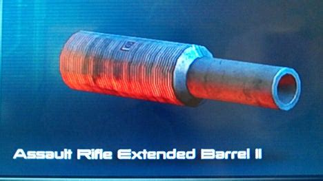 Me3 Assault Rifle Extended Barrel Changed