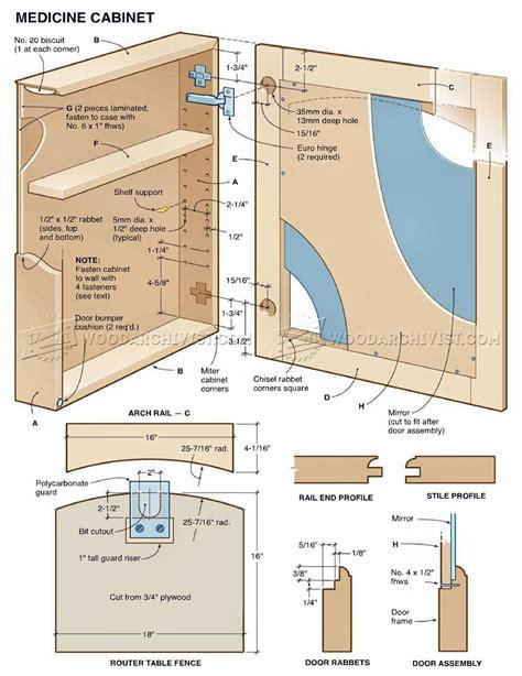 Medicine cabinets woodworking plans Image