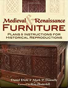 Medieval furniture plans and instructions for historical reproductions Image