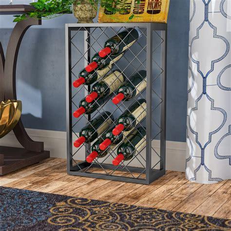 Medlin 23 Bottle Floor Wine Rack