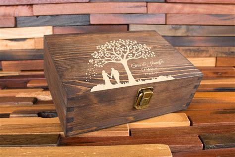Memory box wooden Image