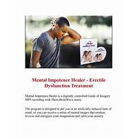 Best reviews of mental impotence healer erectile dysfunction treatment