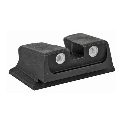 Meprolight S&W Revolver Tru Dot Adjustable Night Sight Set Day Night Sight, Fits *s&K K L N (Adj ) Use Loctite