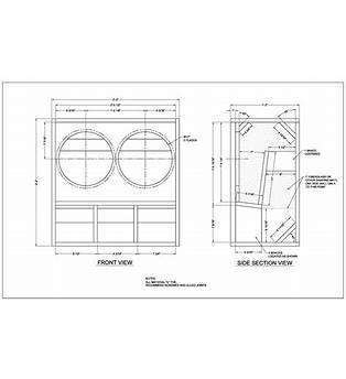 Mesa 2x12 Cabinet Plans