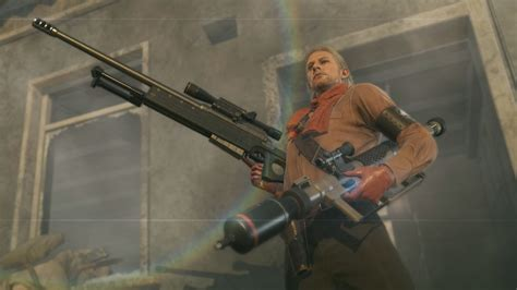 Metal Gear Solid Sniper Rifle Scope How To Use