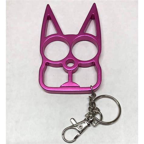 Metal Wild Kat Self Defense Keychain