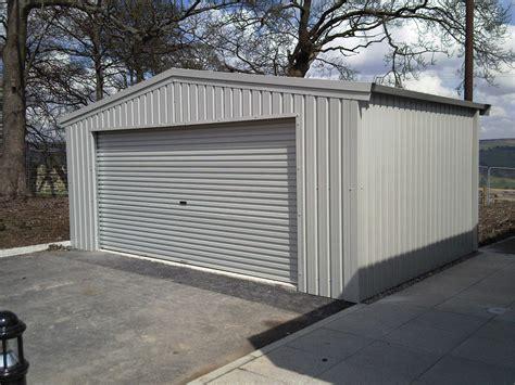 Metal garages uk Image