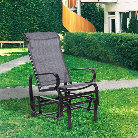 Metal porch glider chairs Image