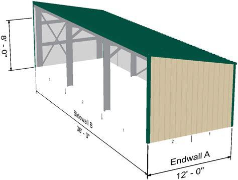 Metal storage building plans Image