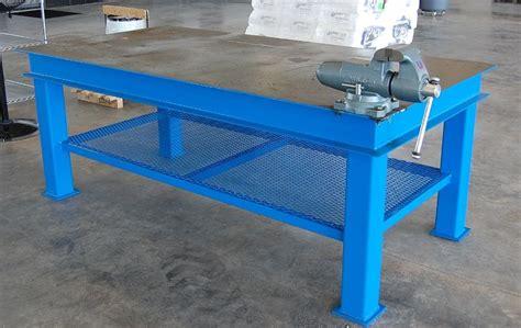 Metal work bench plans Image