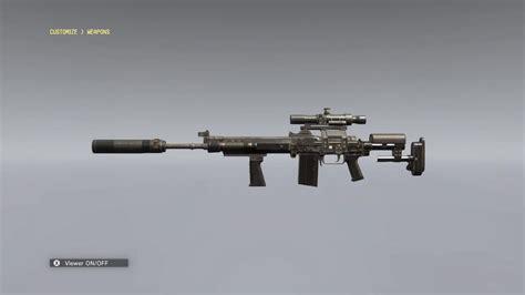 Mgsv Sniper Rifle