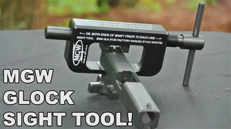 Mgw Ameriglo Gtool2 Is The Best Glock Sight Pusher For