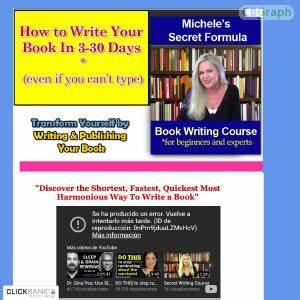 Free tutorial michele's secret book writing course