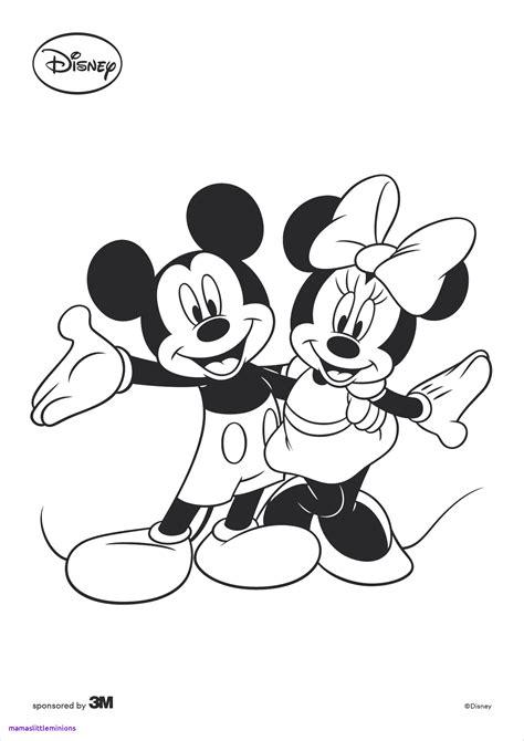 Micky Maus Ausmalbilder Zum Ausdrucken