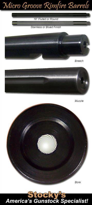 Micro Groove Ruger 10 22 Barrels