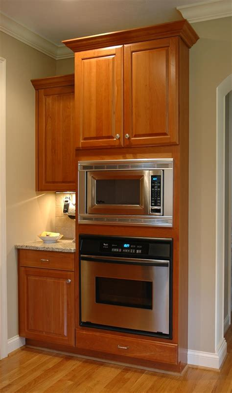Microwave oven cabinet design Image