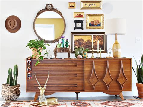 Mid century modern furniture Image