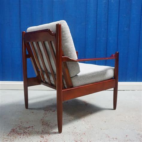 midcentury modern danish armchair restoration Image
