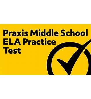 Middle School Language Arts Practice Test