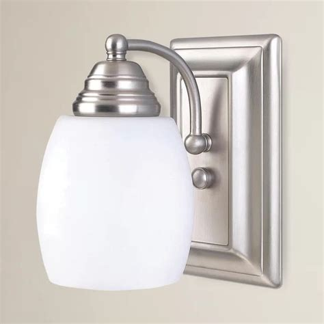 Miesner 1-Light Bath Sconce