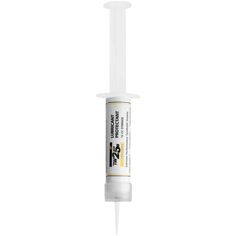 Milcomm Weapons Grease Tw25b Weapons Grease 12 Oz Syringe