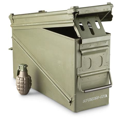 Military Ammo Can Sizes