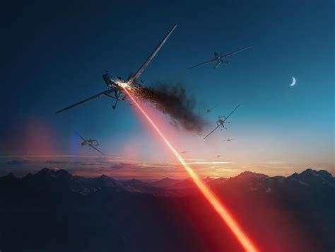 Military Rifle Shoots Lazer
