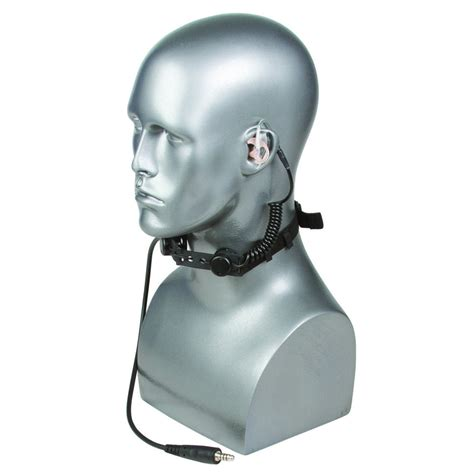 Military Tactical Throat Mic Headset Safariland