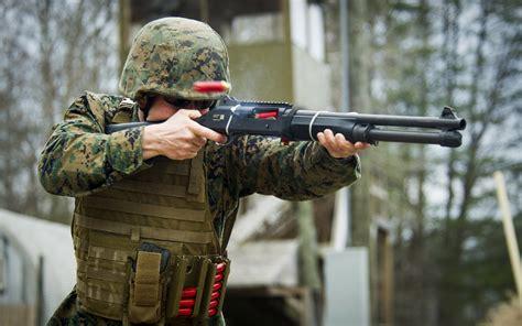 Military Use Of Shotguns