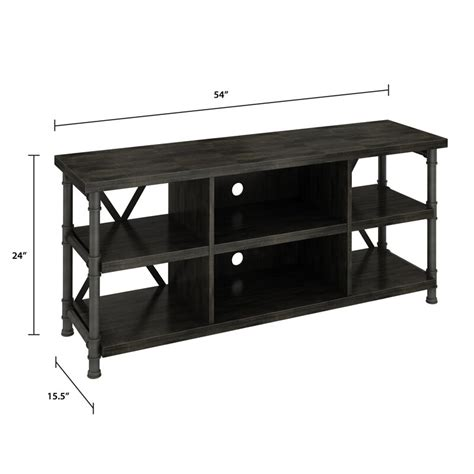 "Millen TV Stand for TVs up to 60"" with Optional Fireplace"