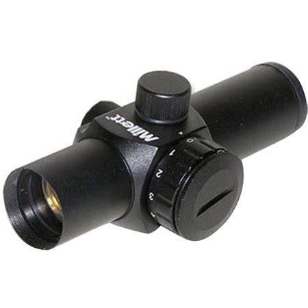 Millett SP-2 Compact 1x24 Red Dot Sight - Matte Black